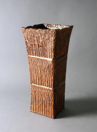 4974 ceramic vase Ito Tozan II