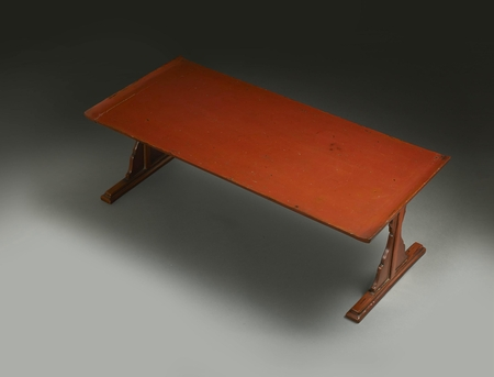 6348 A Negoro lacquer Sutra table. Japan 17th century Edo period Dimen